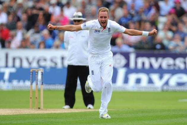 Ashes 2013: Stuart Broad Clicks