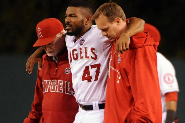 Angels Place Kendrick on DL; Call UP LHP Boshers