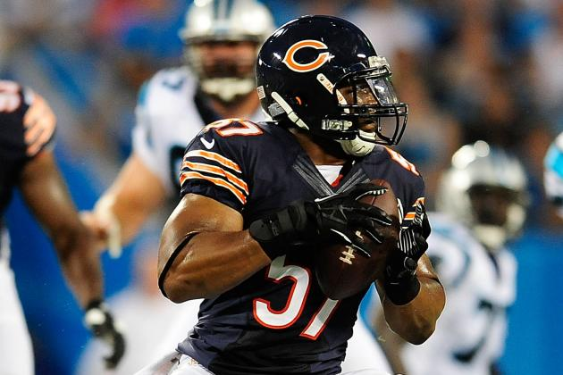 Bears' Bostic making strong case to start at middle linebacker