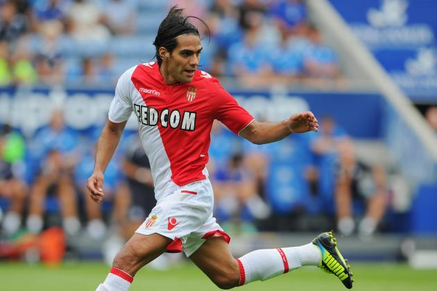 Breaking Down Falcao's Ligue 1 Debut for Monaco V Bordeaux