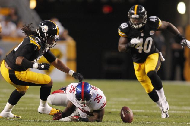 Steelers lose 18-13 to Giants in first exhibition game