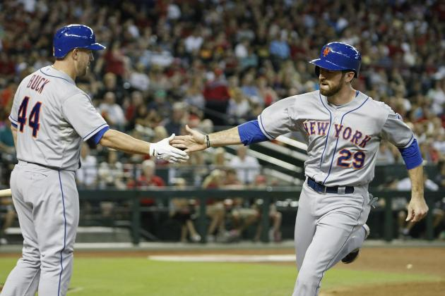 Flores Fuels Mets over Diamondbacks