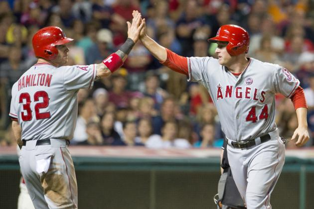 Angels Find Offense in 7-2 Win over Indians