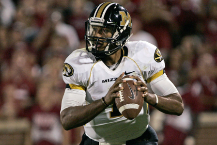 Franklin States His Case for Mizzou QB Job