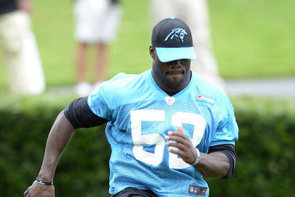 Panthers' Jon Beason Focused on 'Permanent Comeback'