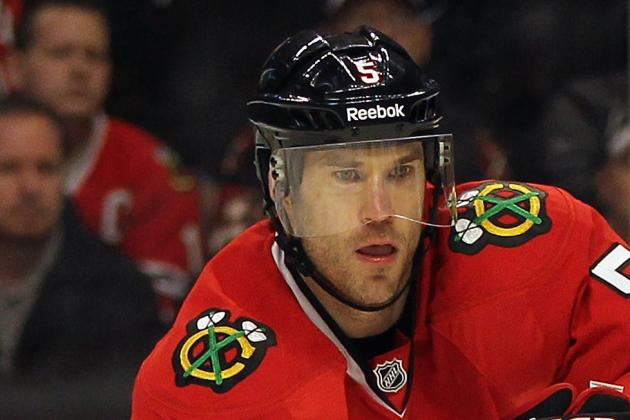 Former Blackhawks Defenseman Montador Lands in KHL