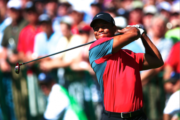 Tiger Woods at PGA Championship 2013 Tracker: Day 4 Score and Highlights