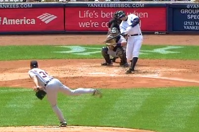 A-Rod Hits 1st Homer of Season