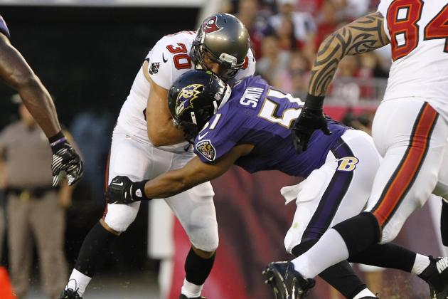 Daryl Smith Already Quarterbacking Baltimore Ravens D