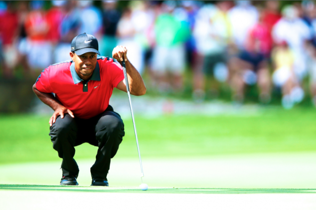 Tiger Woods at PGA Championship 2013: Day 4 Recap and Twitter Reaction