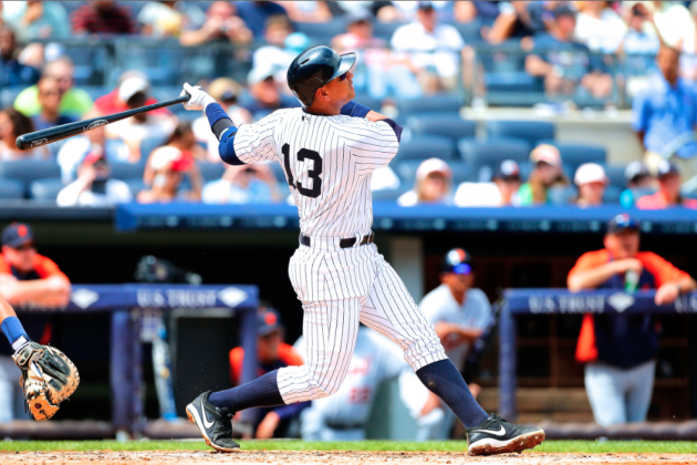 Alex Rodriguez Hits 1st Home Run of 2013 Season off Justin Verlander