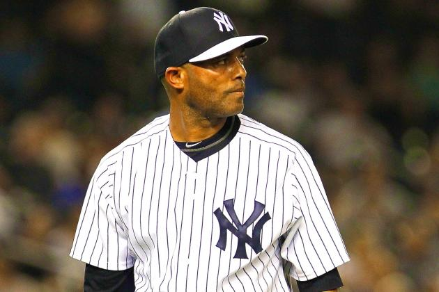 Mariano Rivera Blows 3 Straight Saves for First Time in His Career