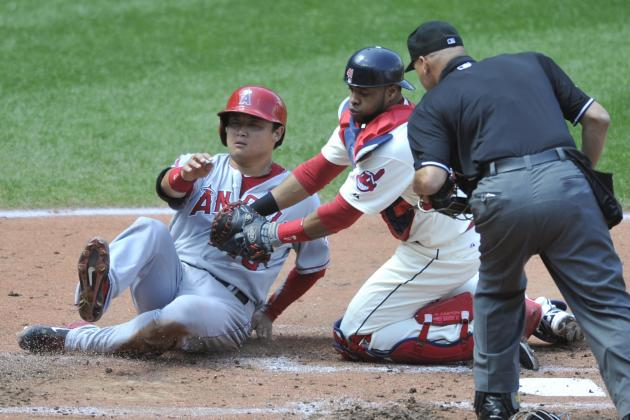 Indians Rally from 5-Run Deficit, Top Angels
