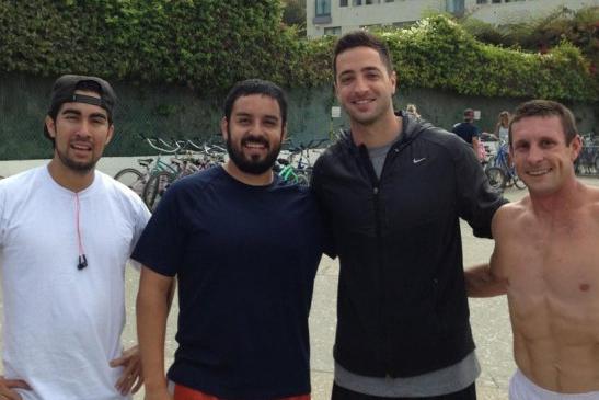 Ryan Braun Hangs at Beach with Random Bros During Suspension