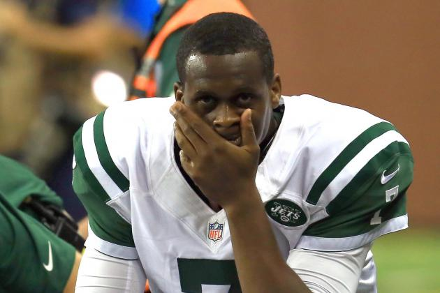 Geno Smith's Injured Ankle Doesn't Keep Him out of Practice