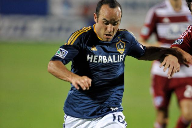 Landon Donovan Posts Fourth Career Hat Trick, but Galaxy Can't Holdon