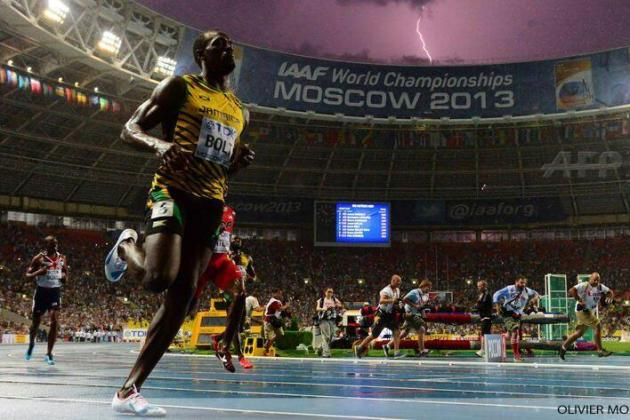 Usain Bolt Wins Men's 100-Meter Dash Final at 2013 World Athletics Championships