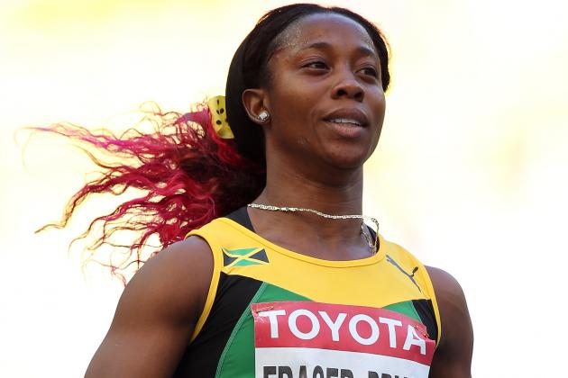 Shelly-Ann Fraser-Pryce Leads Contenders in Women's 100 Meters