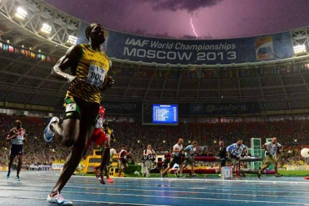 Photographer Who Captured Usain Bolt-Lightning Bolt Image Calls It 'Pure Luck'