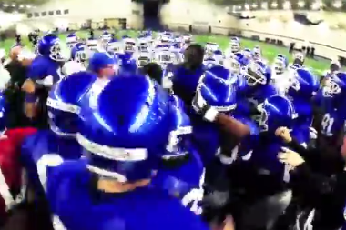 Kentucky Football: Mark Stoops Starts Mosh Pit (VIDEO)