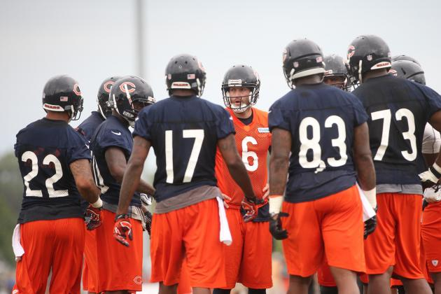 Chicago Bears: Offensive Line a Work in Progress to Say the Least
