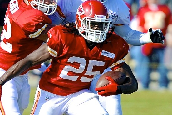 Jamaal Charles Injury: Updates on Kansas City Chiefs Star's Foot