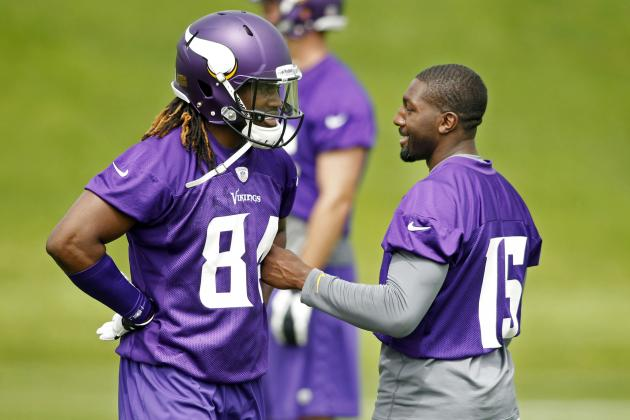 Greg Jennings Embracing the Mentor Role with Cordarrelle Patterson