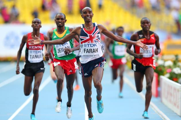 Projecting Mo Farah's Success for Remaining 2013 World Championship Events