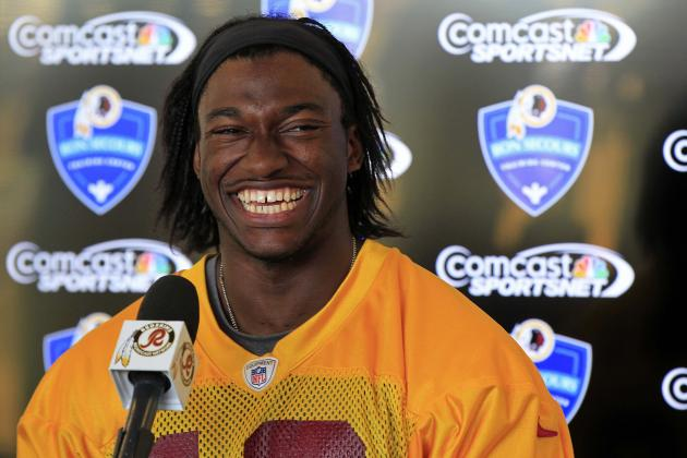 Robert Griffin III Approved for Full Practice Regimen