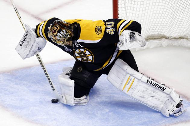 Tuukka's Back in Boston... for a While