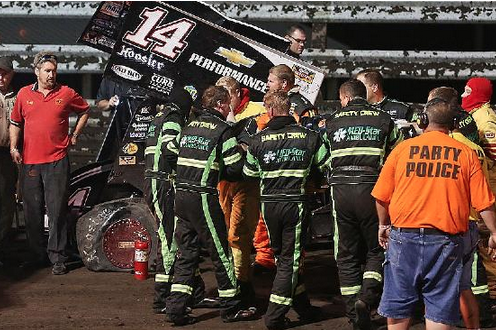 NASCAR Team Owners Don't Want Their Drivers Racing Sprint Cars