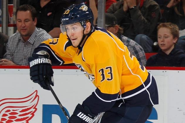 Colin Wilson's Health X-Factor for Nashville Predators