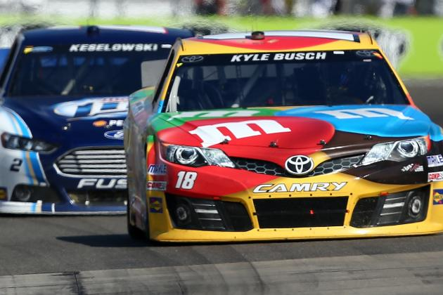Keselowski Resists Temptation to Wreck Kyle Busch for Win