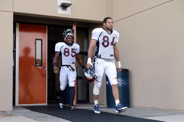 Jacob Tamme Returns to Broncos Practice; Fellow TE Joel Dreessen out