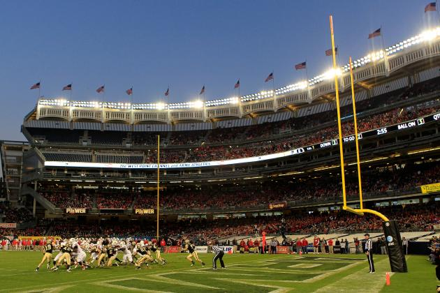 Army to Play 3 More Football Games at Yankee Stadium