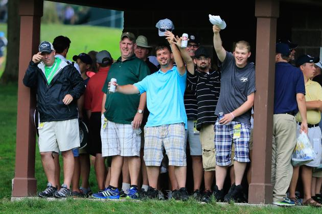 Twitter Reacts to Golf Bros Acting a Fool at 2013 PGA Championship
