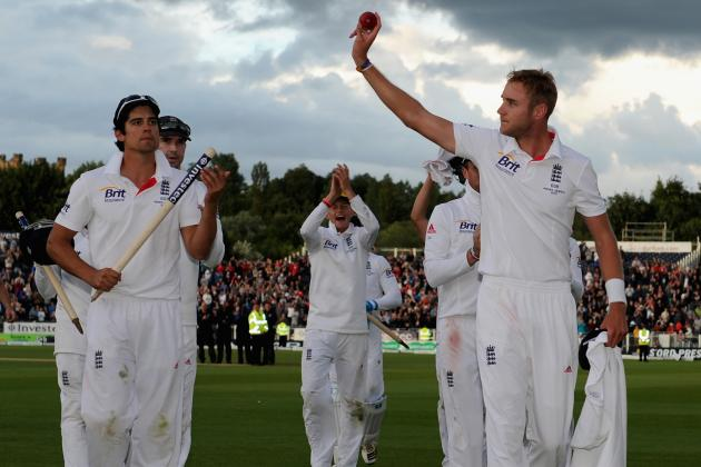 Ashes 2013: Stuart Broad Dominates Gripping Fourth Day at Riverside
