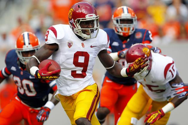 How USC Should Handle Marqise Lee's Fall Practice Workload After Injury Scare