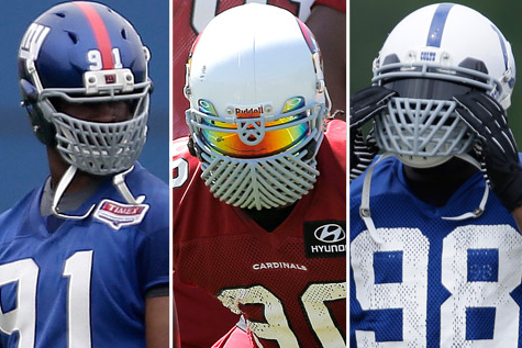 The NFL Bans Customized Facemasks Because Football Isn't Supposed to Be Fun