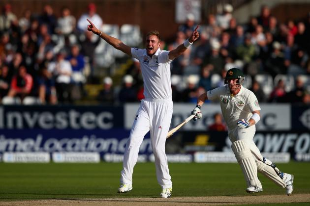 Ashes 2013: Fourth Test, Day Four: Player of the Day: Stuart Broad