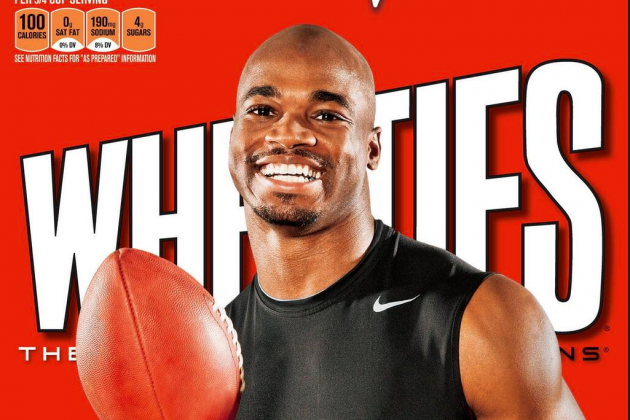 Adrian Peterson to Appear on the Next Wheaties Box
