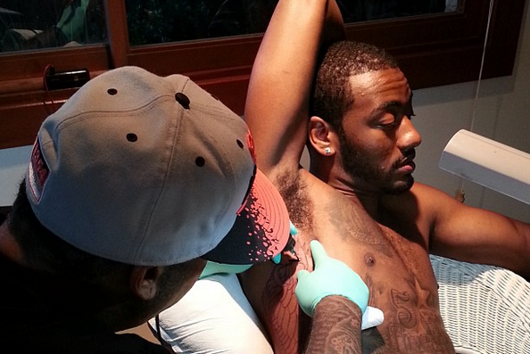 John Wall Gets Owl Tattoo to Represent 'No Time for Sleep'
