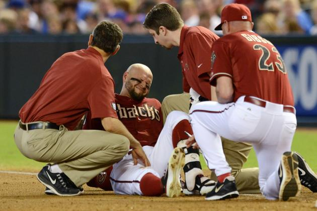 Arizona Diamondbacks Place Cody Ross on DL with Hip Injury
