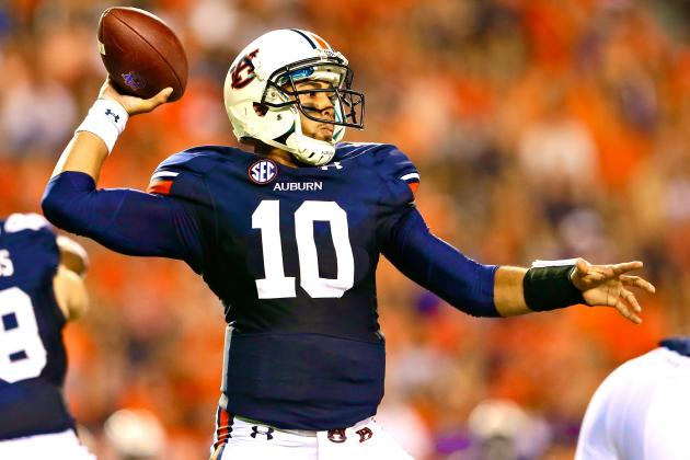Former Auburn Starter Kiehl Frazier out of Quarterback Race, Moves to Safety
