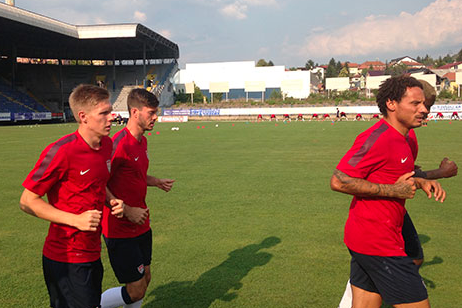Behind the Scenes at USMNT's Training in Sarajevo