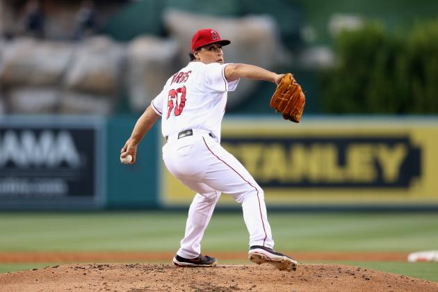 Angels to Activate Jason Vargas, Option Tommy Hanson to Triple-A