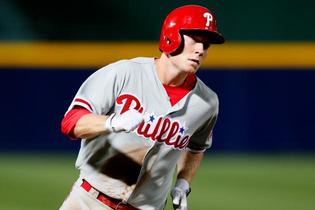 Cole Hamels Posts Complete Game in 5-1 Win over Braves