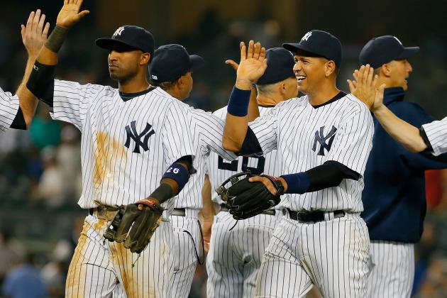 Minus Rivera in 9th, Yankees Close out Angels