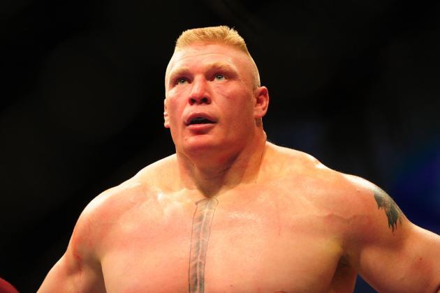 CM Punk vs. Brock Lesnar Results: Lesnar Defeats Punk Via Pin at SummerSlam