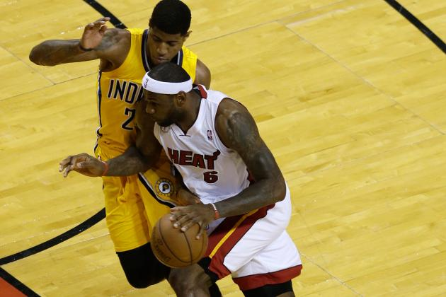 Paul George and the Pacers Struggle with Defending Screens Last Year